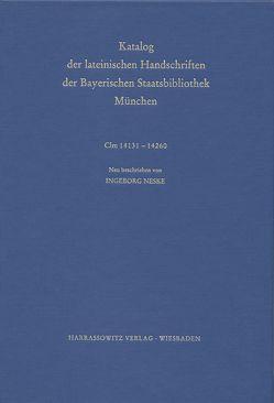 Catalogus codicum manu scriptorum Bibliothecae Monacensis. (Handschriftenkatalog… / Series nova: Katalog der lateinischen Handschriften von Neske,  Ingeborg