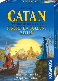 Catan – Erweiterung für das Duell – Finstere & Goldene Zeiten von Teuber,  Klaus