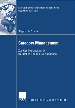 Category Management von Benkenstein,  Prof. Dr. Martin, Steiner,  Stephanie