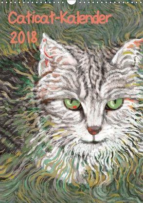 Caticat-Kalender 2018 (Wandkalender 2018 DIN A3 hoch) von Kasper-Ninochvili,  Rita