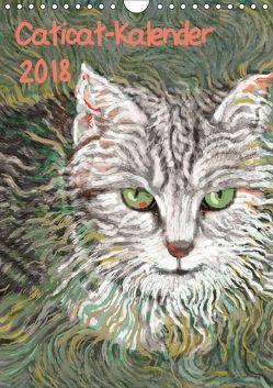 Caticat-Kalender 2018 (Wandkalender 2018 DIN A4 hoch) von Kasper-Ninochvili,  Rita