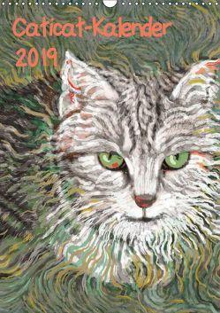 Caticat-Kalender 2019 (Wandkalender 2019 DIN A3 hoch) von Kasper-Ninochvili,  Rita