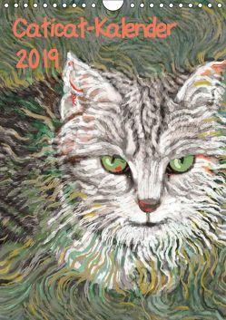 Caticat-Kalender 2019 (Wandkalender 2019 DIN A4 hoch) von Kasper-Ninochvili,  Rita