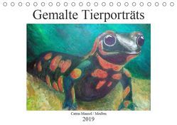 Catrin Mansel – Gemalte Tierporträts (Tischkalender 2019 DIN A5 quer)
