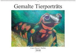 Catrin Mansel – Gemalte Tierporträts (Wandkalender 2018 DIN A2 quer) von Mansel,  Catrin