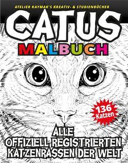 CATUS Malbuch von Kaymak,  Nuesret