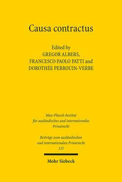 Causa contractus von Albers,  Gregor, Patti,  Francesco Paolo, Perrouin-Verbe,  Dorothée