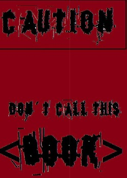 "Caution – Don´t Call This ""Book"" von Karin Röhlig,  Krallentanz"