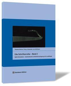 CAx Schriftenreihe – Band 2 von Andres,  Thomas, Hoffmann,  Alexander von