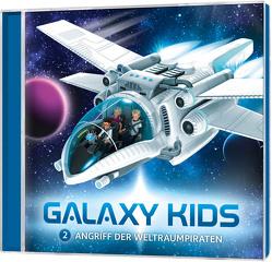 CD Angriff der Weltraumpiraten – Galaxy Kids (2) von Franke,  Thomas, Schier,  Tobias, Schuffenhauer,  Tobias, Steffens,  Björn