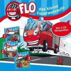 CD-Box 1: Flo, das kleine Feuerwehrauto (Folgen 1-3) von Mörken,  Christian