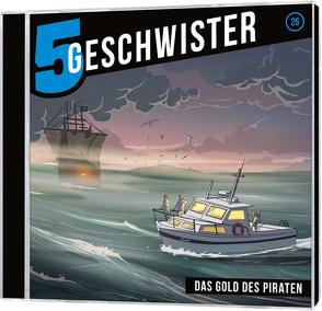 CD Das Gold des Piraten – 5 Geschwister (26) von Schier,  Tobias, Schuffenhauer,  Tobias