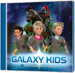 CD Der vergessene Planet – Galaxy Kids (3) von Franke,  Thomas, Schier,  Tobias, Schuffenhauer,  Tobias, Steffens,  Björn