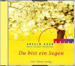 CD: Du bist ein Segen von Frankhauser,  Christof, Grün,  Anselm, Hassler,  Hans, Hufeisen,  Hans-Jürgen, Pegasus Quartett