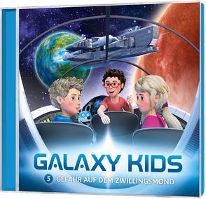 CD Gefahr auf dem Zwillingsmond – Galaxy Kids (5) von Franke,  Thomas, Schier,  Tobias, Schuffenhauer,  Tobias, Steffens,  Björn