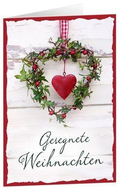 CD-Geschenk-Card Gesegnete Weihnachten von Eichholz,  Thea, Fermate, Lehmann,  Anja S.
