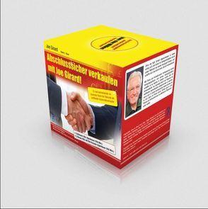 """CD-Hörbuch """"Abschlusssicher verkaufen mit Joe Girard"""" von Joe Girard"""