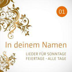 CD In deinem Namen, Vol.1 von Childrens Corner StudioChor, Eberwein,  Claus-Peter, Kriegeskotte,  Lisa, Neumann,  Birgitt, Studiochor, Wiedersprecher,  Uta