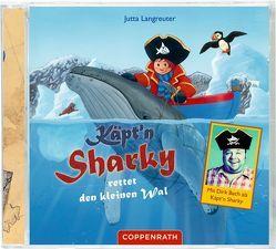 CD: Käpt'n Sharky rettet den kleinen Wal von Bach,  Dirk, Langreuter,  Jutta, Neuendorf,  Silvio