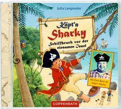 CD: Käpt'n Sharky – Schiffbruch vor der einsamen Insel von Bach,  Dirk, Langreuter,  Jutta, Neuendorf,  Silvio