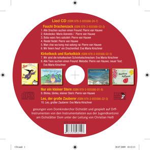 CD-Lieder zu den 4 Bilder-Büchern