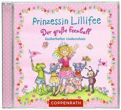 CD: Prinzessin Lillifee – Der große Feenball. Zauberhafter Liederschatz von Finsterbusch,  Monika, Sissi Perlinger u.a.