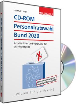 CD-ROM Personalratswahl Bund 2020 von Wolf,  Helmuth