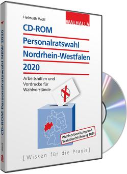 CD-ROM Personalratswahl Nordrhein-Westfalen 2020 von Wolf,  Helmuth