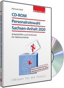 CD-ROM Personalratswahl Sachsen-Anhalt 2020 von Wolf,  Helmuth