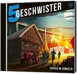 CD Tappen im Dunkeln – 5 Geschwister (28) von Schier,  Tobias, Schuffenhauer,  Tobias