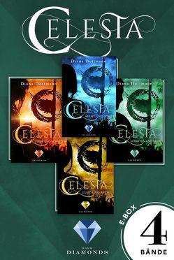 Celesta: Sammelband der epischen Fantasy-Serie »Celesta« von Dettmann,  Diana