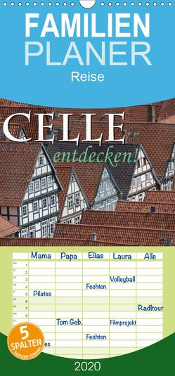 CELLE entdecken – Familienplaner hoch (Wandkalender 2020 , 21 cm x 45 cm, hoch) von Blume,  Hubertus