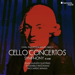 Cellokonzerte von Bach,  Carl Philipp Emanuel, Queyras,  Jean-Guihen