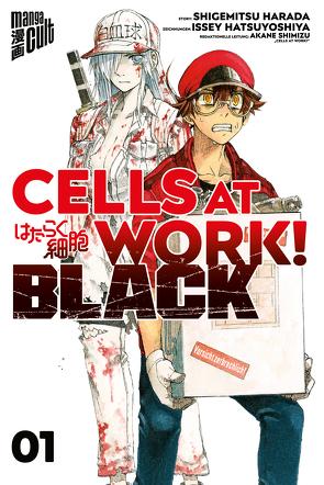 Cells at Work! BLACK 1 von Dallmeier,  Carina, Harada,  Shigemitsu, Hatsuya,  Ikuta