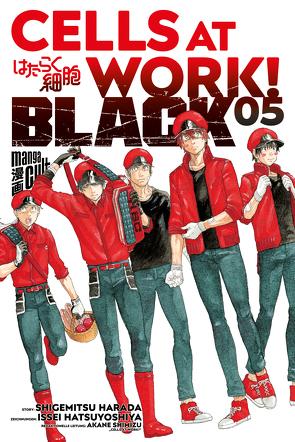 Cells at Work! BLACK 5 von Dallmeier,  Carina, Harada,  Shigemitsu, Hatsuyoshiya,  Issei, Shimizu,  Akane