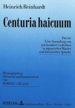 Centuria haicuum von Reinhardt,  Heinrich