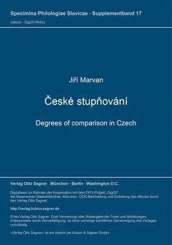 České stupňování von Marvan,  Jirí