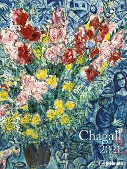 Chagall 2021 – Kunst-Kalender – Poster-Kalender – 48×64 von Chagall,  Marc