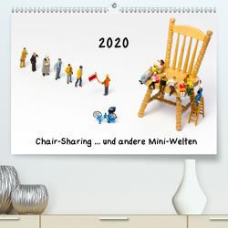 Chair-Sharing … und andere Mini-Welten (Premium, hochwertiger DIN A2 Wandkalender 2020, Kunstdruck in Hochglanz) von Bogumil,  Michael