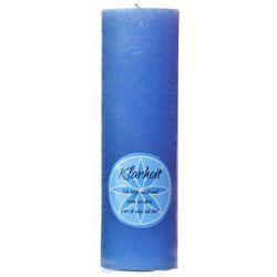 "Chakra Kerze ""Klarheit"" in blau, Höhe ca. 23 cm von Krüger,  Tanja"