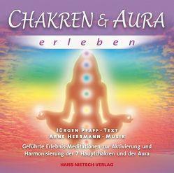 Chakren & Aura erleben von Herrmann,  Arne, Pfaff,  Jürgen
