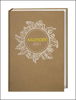 Chalk Drawing Kalenderbuch A5 Kalender 2021 von Heye