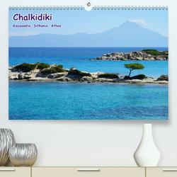 Chalkidiki: Kassandra, Sithonia, Athos (Premium, hochwertiger DIN A2 Wandkalender 2020, Kunstdruck in Hochglanz) von Westerdorf,  Helmut