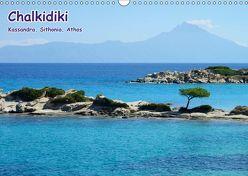 Chalkidiki: Kassandra, Sithonia, Athos (Wandkalender 2019 DIN A3 quer) von Westerdorf,  Helmut