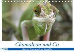 Chamäleon und Co (Tischkalender 2018 DIN A5 quer) von Muszalski,  Agata