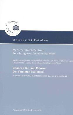 Chancen für eine Reform der Vereinten Nationen? von Bauer,  Steffen, Klein,  Eckart