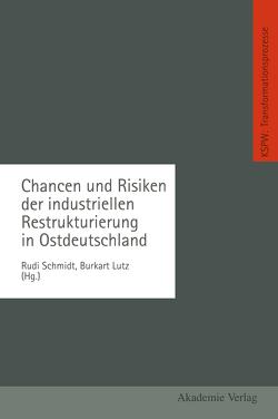 Chancen und Risiken der industriellen Restrukturierung in Ostdeutschland von Lutz,  Burkart, Schmidt,  Rudi