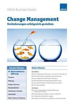 Change Management von Burtscher,  André, Grobner,  Marianne