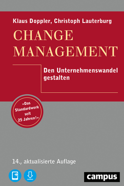 Change Management von Doppler,  Klaus, Lauterburg,  Christoph