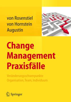 Change Management Praxisfälle von Augustin,  Siegfried, von Hornstein,  Elisabeth, von Rosenstiel,  Lutz